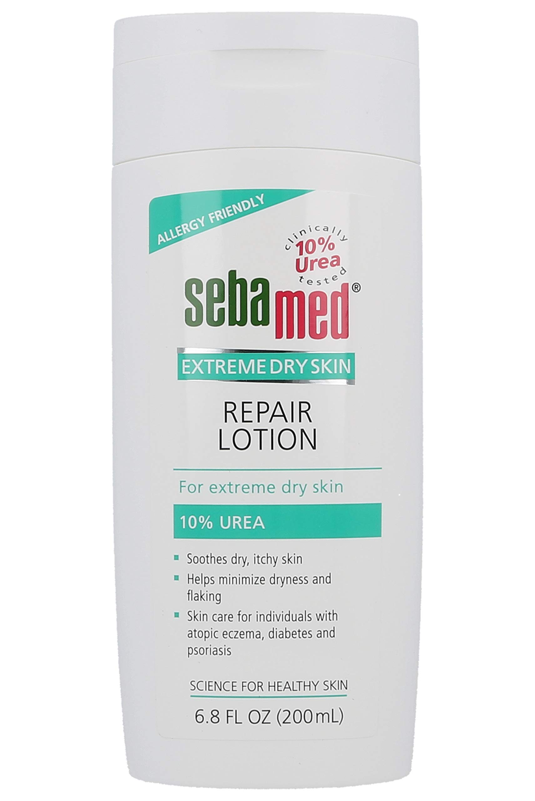 Sebamed Extreme Dry Skin Repair Lotion 10% Urea - Perfect for Eczema Psoriasis Lotion Rough Dry Skin Moisturizer (200mL) by SEBAMED