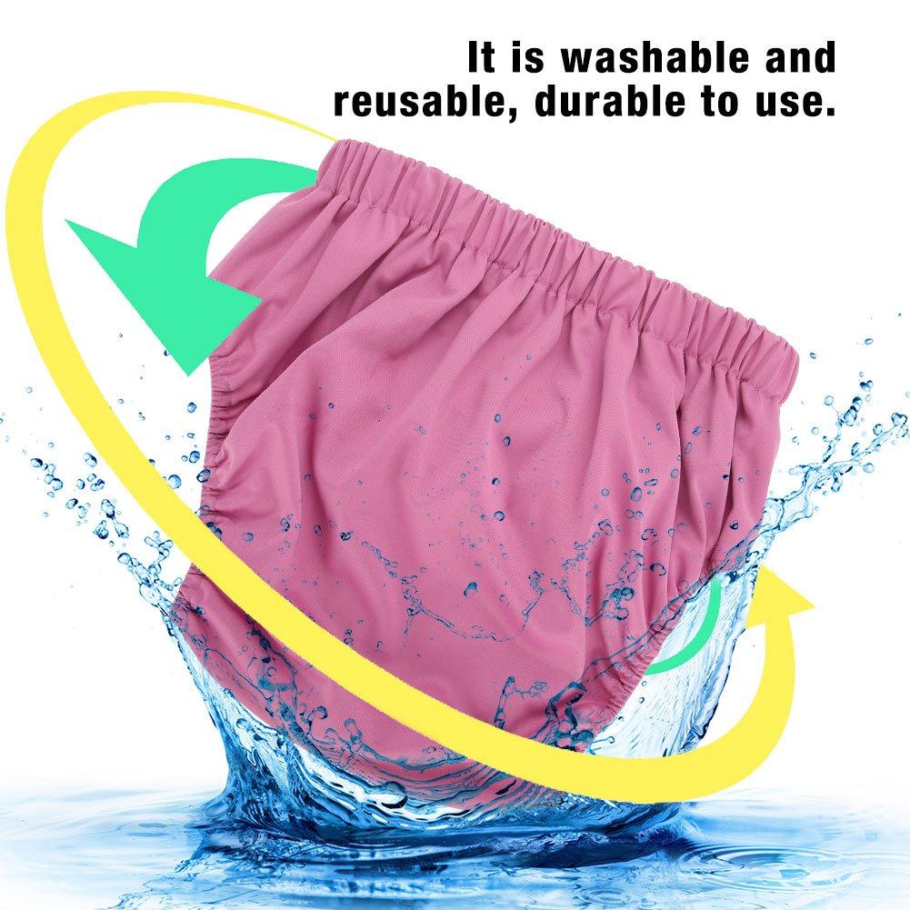 Couches adultes Blue305, 4 couches lavables et r/éutilisables pour les personnes /âg/ées