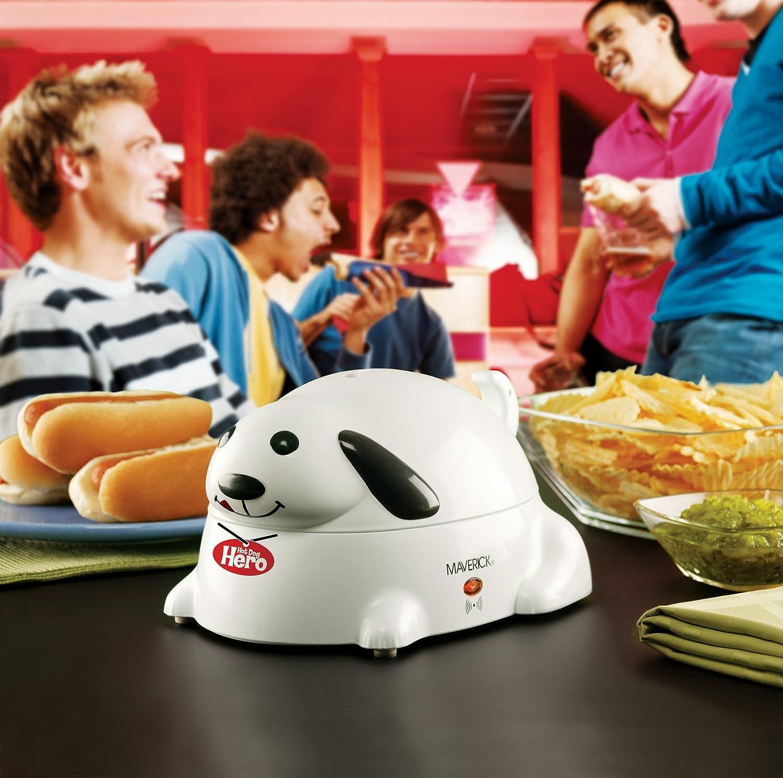 White Maverick HC-01 Hero Electric Hot-Dog Steamer