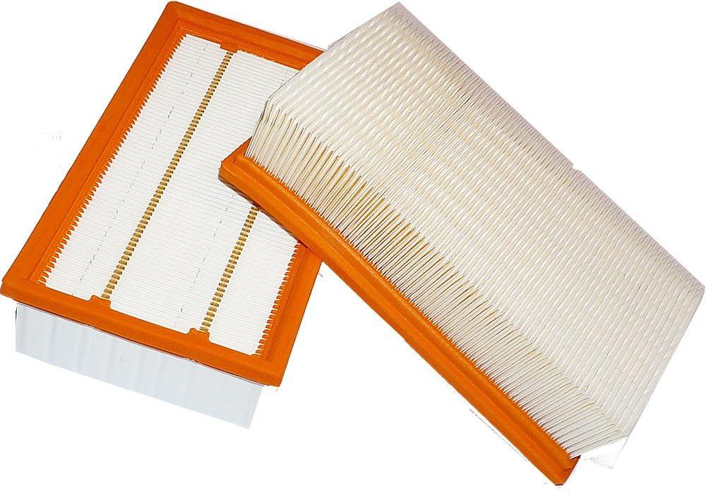 Eco sostituisce originale 6.904-367.0 NT 35//1 Te 3 filtri a pieghe piatte per K/ärcher NT 25//1 Ap NT 561 NT 361 NT 35//1 Ap NT 611 Tact NT 55//1 M NT 45//1
