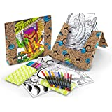 Crayola Art with Edge Studio Kit Naturescapes Coloring Book