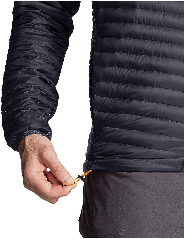 Eddie Bauer Mens MicroTherm 2.0 Down Hooded Jacket