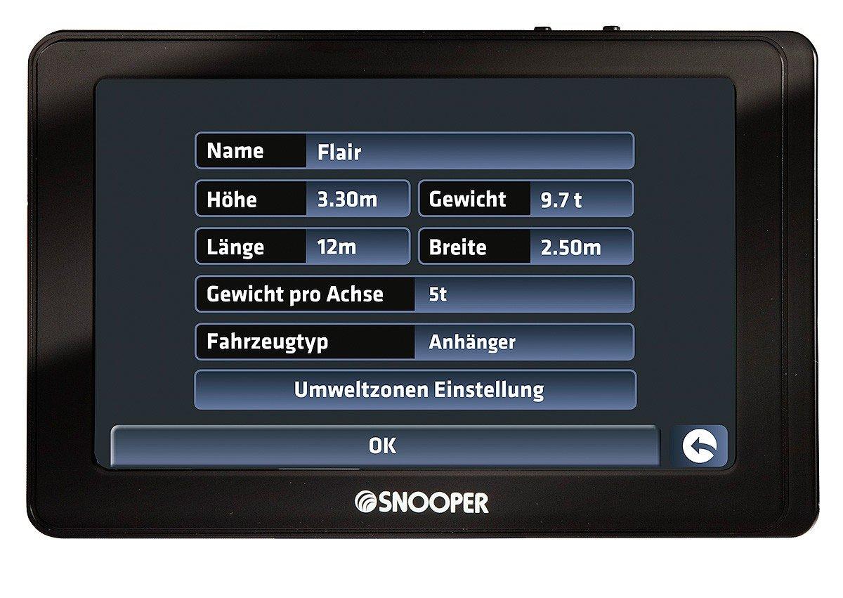 Snooper Ventura Pro sc5800dvr Viaje Sistema de navegación ...