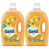 Omo Lessive Liquide Fleur D'Agrumes Et Bergamote 2,94l 42 Lavages - Lot de 2