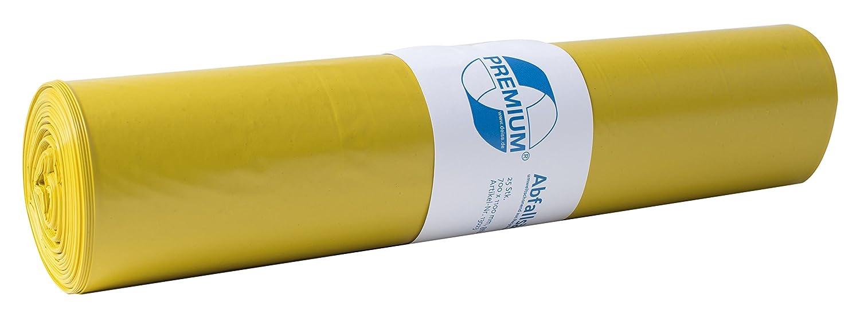 Mü llsä cke DEISS PREMIUM gelb, 70 Liter, 25-er Pack EMIL DEISS KG 13730