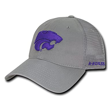 dfd0f1b4f1c University of Kansas State K-State Wildcats Polo Relaxed Trucker ...
