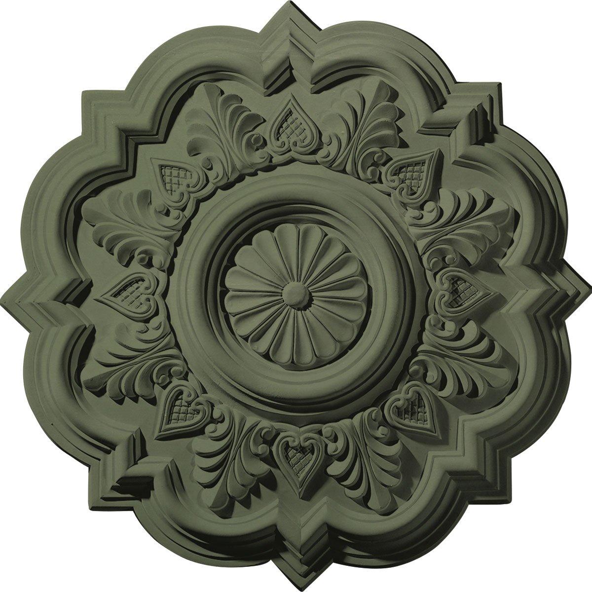 Ekena Millwork CM20DRAGF Deria Ceiling Medallion, Athenian Green