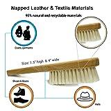 Valentino Garemi Shoe Cleaning Brush - Mud Scraper, Dust Remover, Dirt Cleaner, White Marks Eraser for all