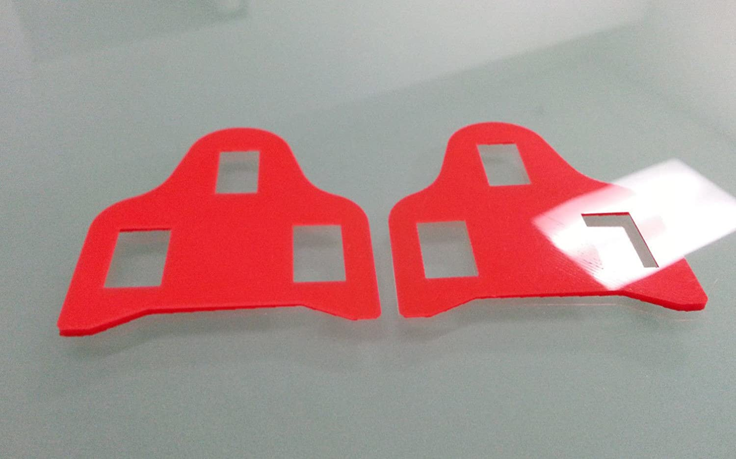 Leg Length discrepancy for SHIMANO SPD-SL ROAD pedal style cleat spacer shim