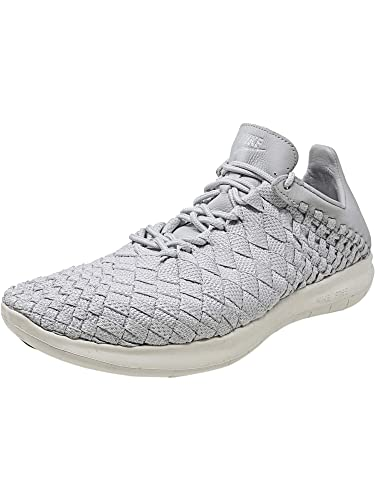 quality design b8b09 d5729 Nike Men s NikeLab Free Inneva Woven Motion Pure Platinum Ankle-High Fabric  Running Shoe