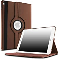 Robustrion Smart 360 Degree Rotating Stand Case Cover for iPad Air 3 2019 10.5 inch - Brown