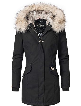 d607570e999f Navahoo Damen Winterjacke Winterparka Cristal 5 Farben XS-XXL  Amazon.de   Bekleidung