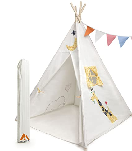 Styling Children Tent House Colorful Cloth Materials Foldable For Easy Storage Large Assortment Play Shades & Tents