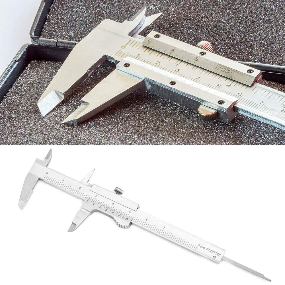 Mini Vernier Caliper High Precision 0-75mmx0.05mm Stainless Steel Vernier Calliper Precision Measuring Tool