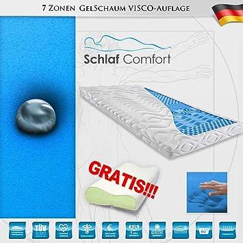 Kaltschaum Matratzenauflage Touch 180x200x7cm Wert 49,99€ 2Gel Kissen Gratis
