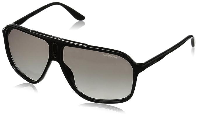 Carrera D28 6016/S IC Gafas de sol, Ovaladas, 62, Shiny Black: Amazon.es: Ropa y accesorios