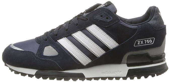 Chaussures Adidas Originals ZX 750 Hommes M18260 Marine