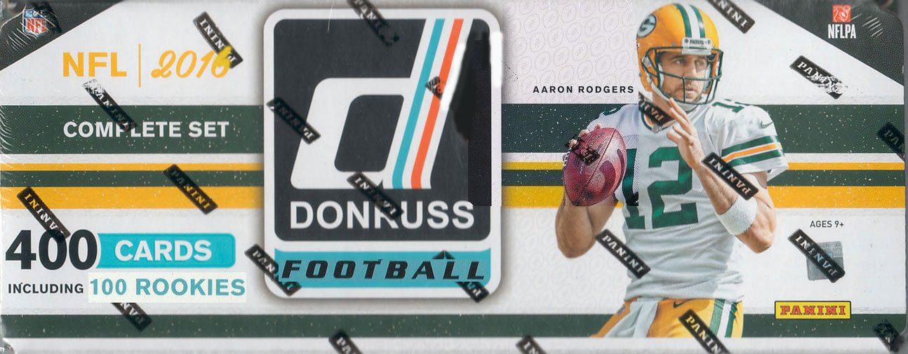 7f44901b4 2016 Donruss NFL Football Factory Sealed Set Loaded with Stars and Hall of  Famers plus 100 Rookie Cards including Carson Wentz