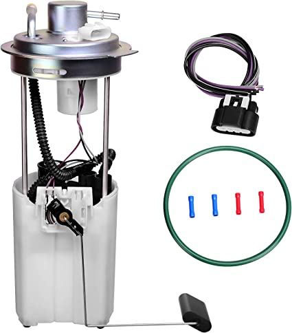 A-Premium Replacement for Chevrolet Silverado 3500 GMC Sierra 3500 2004-2006 6.0L 8.1L Fuel Pump Assembly Cab /& Chassis only
