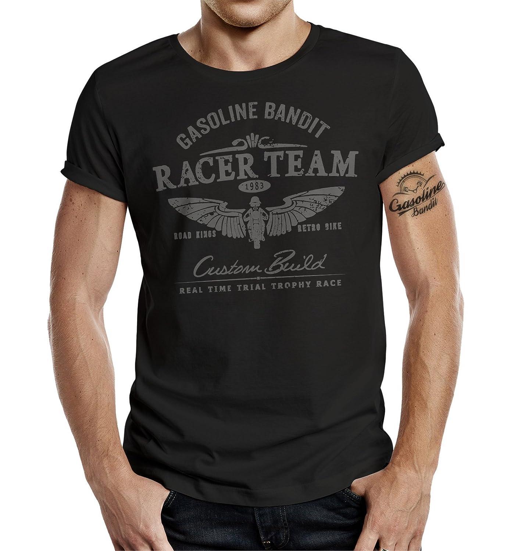 GASOLINE BANDIT® Biker T-Shirt: Racer Team