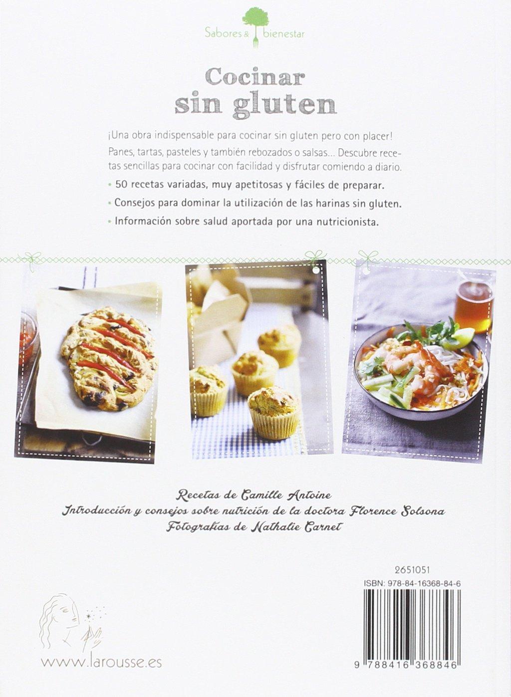 Sabores & Bienestar: Cocinar sin gluten Larousse - Libros Ilustrados/ Prácticos - Gastronomía: Amazon.es: Larousse Editorial, Imma Estany: Libros