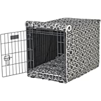 Bowsers Luxury Crate Cover, X-Large, Courtyard Grey