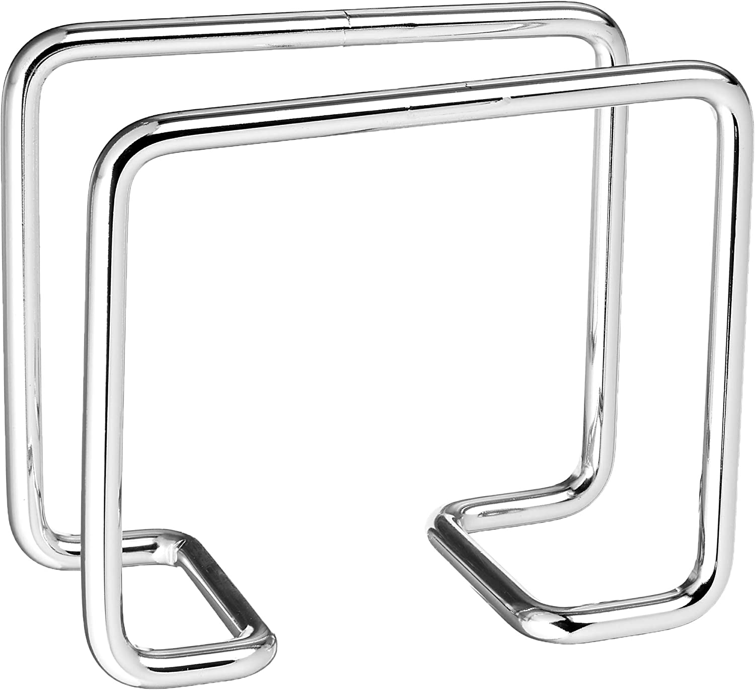Spectrum Diversified Harper Freestanding Paper Napkin Holder for Use on the Kitchen Counter or Table, Chrome