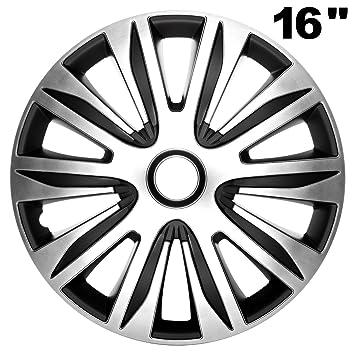 "4 x Radkappen FUN 16/"" Zoll Black Radzierblenden VW,AUDI,BMW,MERCEDES,SEAT,OPEL"