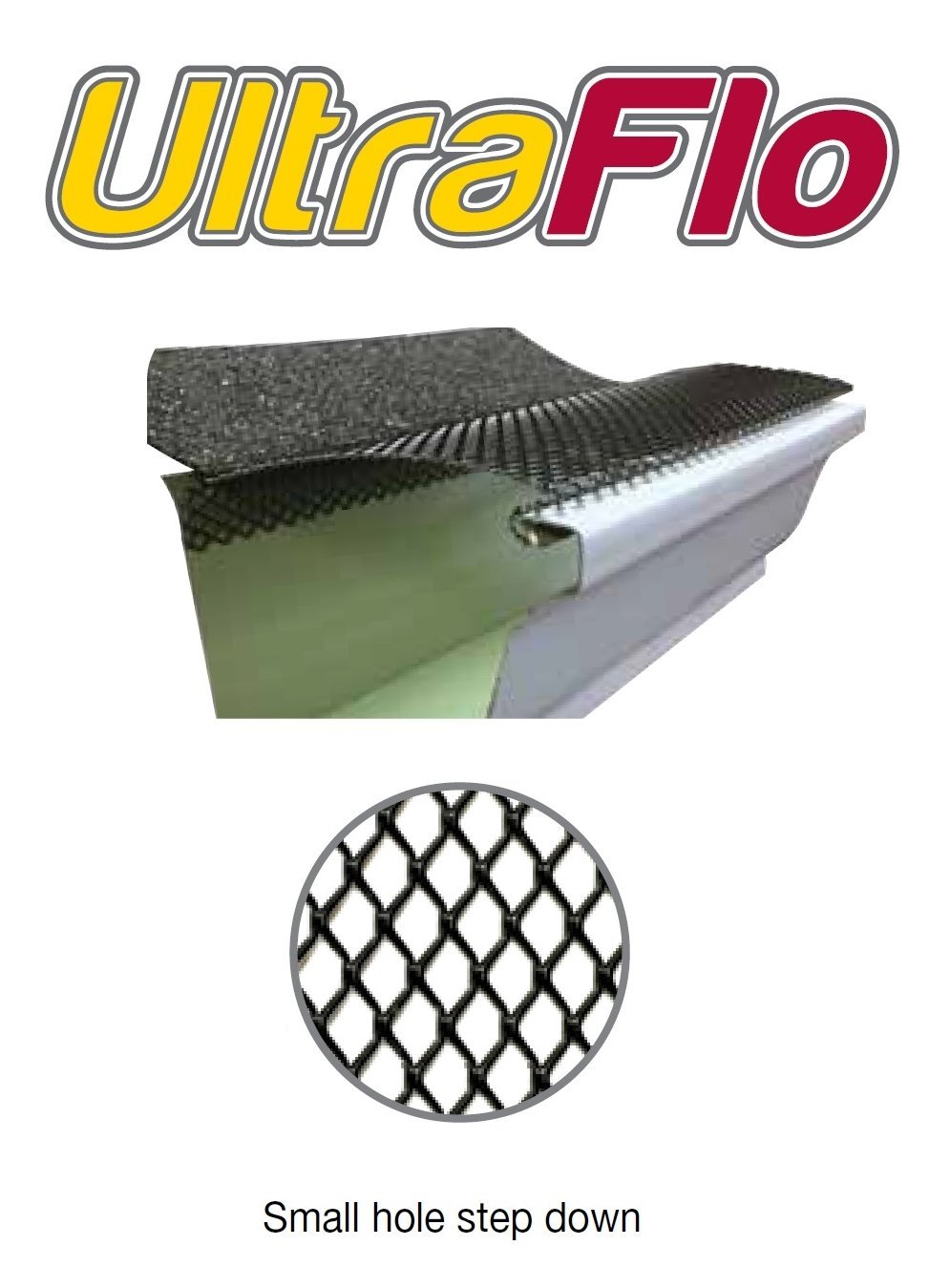 (100 feet) Ultra Flo Leaf Guard Gutter Protector for 5