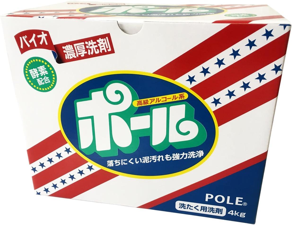 バイオ濃厚洗剤 ポール(酵素配合) 4kg