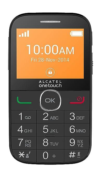 1085 opinioni per Alcatel 20-04C Telefono Cellulare, Nero