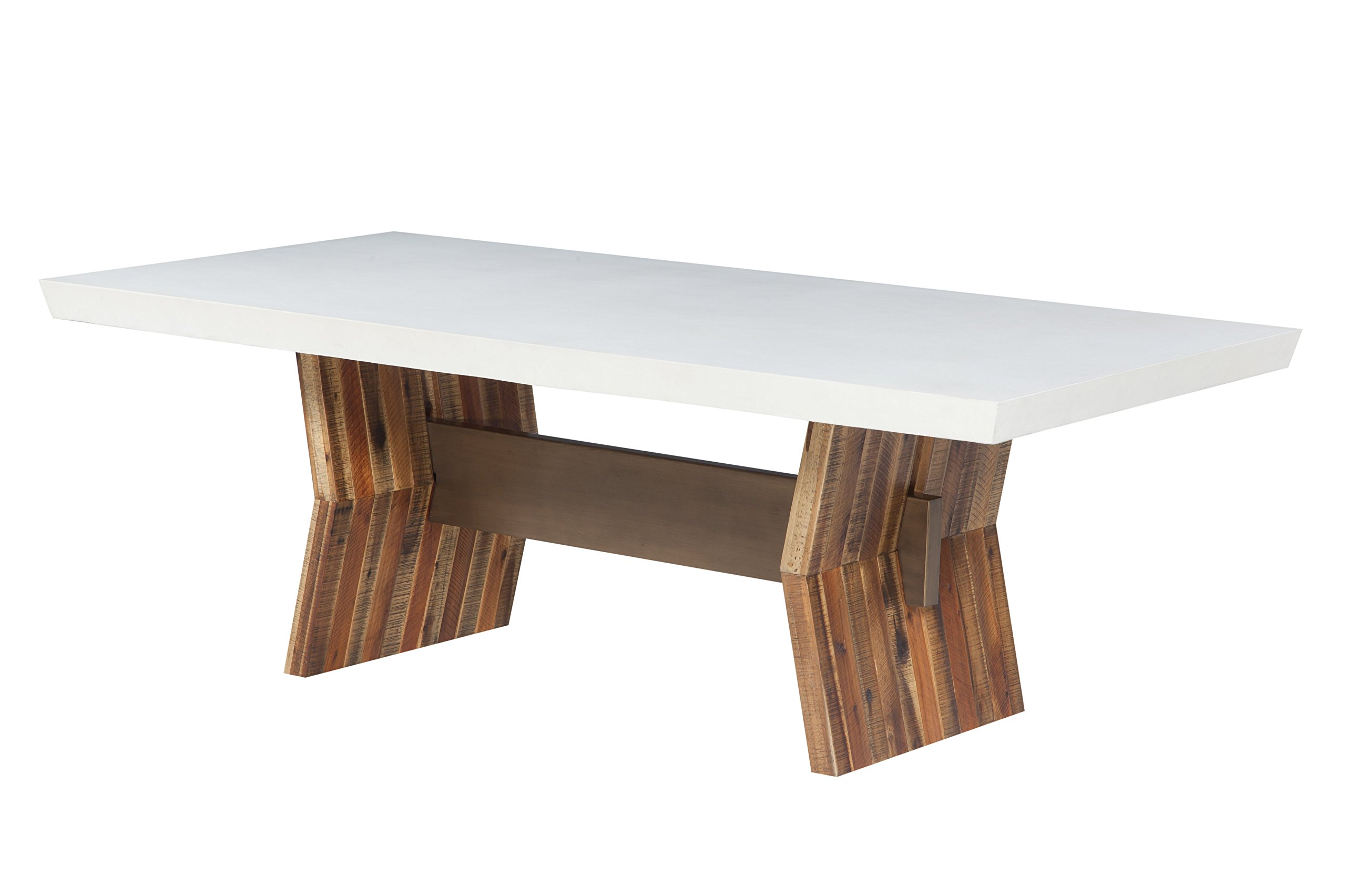 TOV Furniture TOV-D7065 Astoria Concrete Table