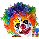 SGS Party Clown Mask Foam Latex with Hair