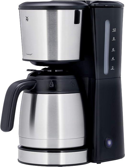 WMF Bueno Pro - Cafetera con jarra térmica, 10 tazas, botón de ...
