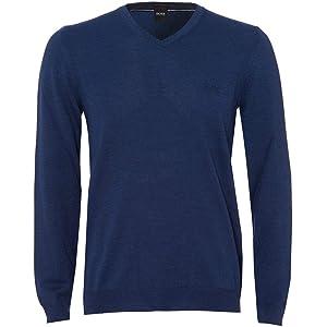 441e29b68 BOSS Mens Baram-L V Neck Jumper · BOSS Mens Baram-L V Neck Jumper. £110.00  · BOSS TOP Hoodie Zip Through with Embroidery Logo 50387166 Saggy