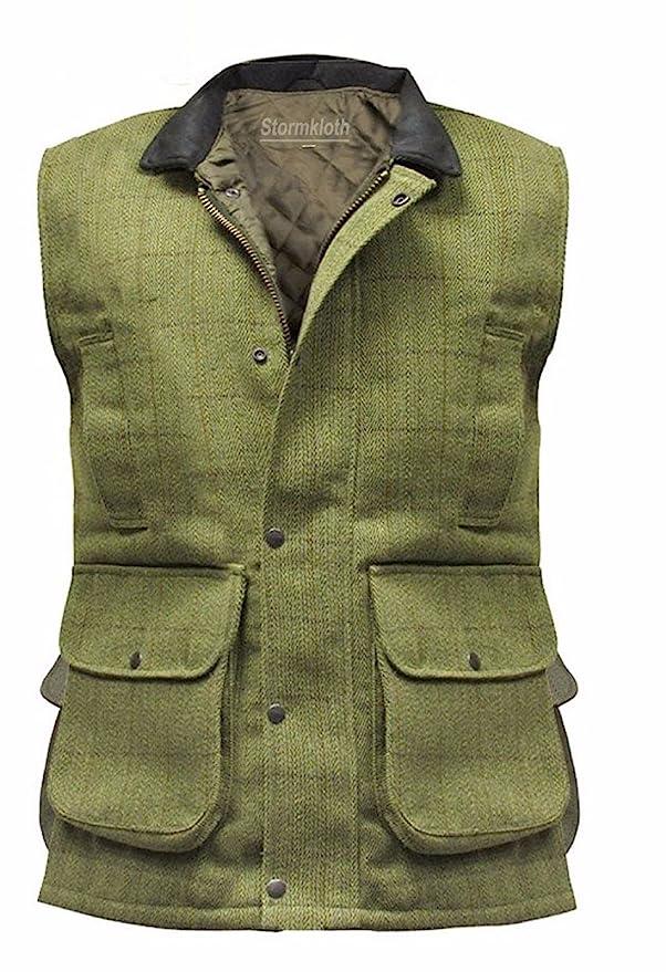 Amazon.com: Chaleco de Hereford Tweed para hombre chaleco ...