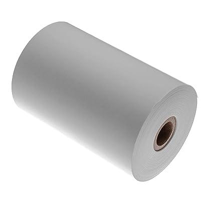 vhbw rollo de etiquetas adhesivas 80mm x 29.3m compatible ...