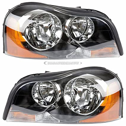Amazon Com Pair New Left Right Headlight Assembly For Volvo Xc90