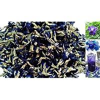 300 grams Organic Dried butterfly pea flower Clitoria ternatea Herbs Herbal healthy tea drink recipes food coloring Antioxidants aging wrinkles