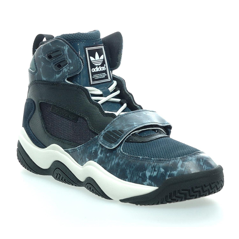 sale retailer a34c3 4352b Adidas - FYW REIGN - Basketballschuh - Mid Top Sneaker - Schwarz  Blau   Weiß-44 23 Amazon.de Schuhe  Handtaschen
