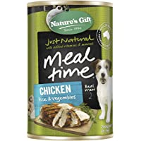 Natures Gift Chicken Rice & Vegetables Dog Food 12 Cans 12 Can Medium