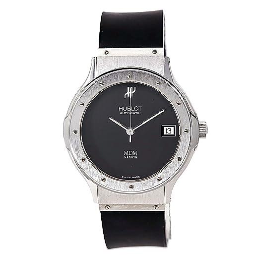 Hublot Mdm automatic-self-wind Mens Reloj 1580.1 (Certificado) de segunda mano: Hublot: Amazon.es: Relojes