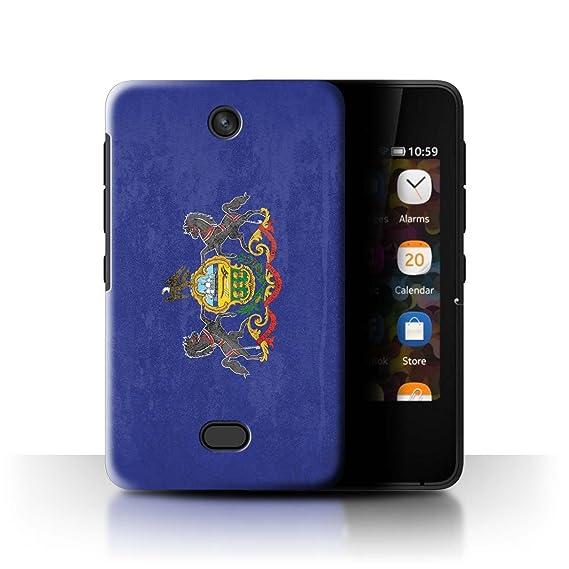 the best attitude e4649 2f429 Amazon.com: STUFF4 Phone Case/Cover for Nokia Asha 501 ...