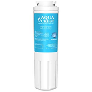 AQUACREST Replacement UKF8001 Refrigerator Water Filter, Compatible with Maytag UKF8001 UKF8001AXX UKF8001P, PUR Jenn-Air UKF8001,4396395, 469006, Filter 4(Package May Vary)