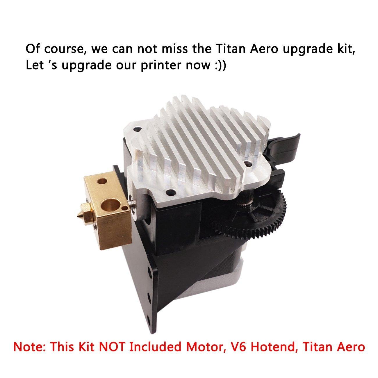 WINSINN - Kit de extractor de titanio 3D para impresora de 1,75 mm ...