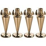 Monacor Slimline Version 4 Piece Speaker Spikes Set - Gold