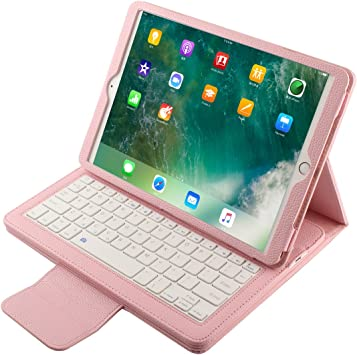 iPad Pro Funda Folio 10,5, iPad Pro 10,5 Teclado Caso, Piel ...