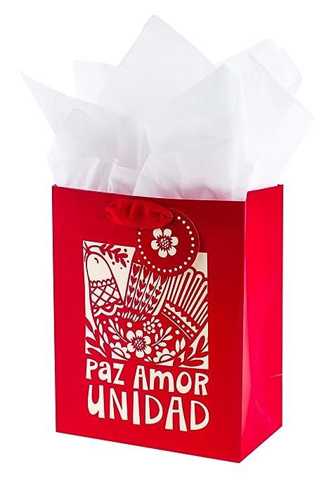 Amazon.com: Hallmark – Tarjeta de Navidad (Tamaño Mediano ...