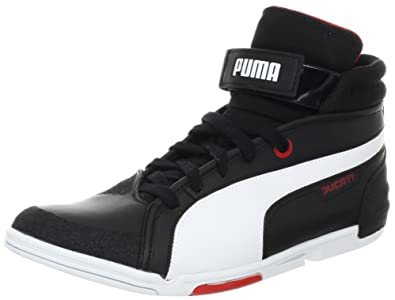 Puma Men's Xelerate Mid Ducati NM Fashion Sneaker, Black