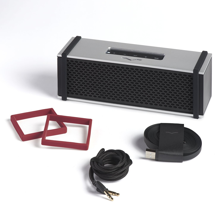 V Moda Remix Bluetooth Hi Fi Metal Mobile Speaker Amplifier Using Tda2009a 12 Watt 15x2 Audio Silver Electronics